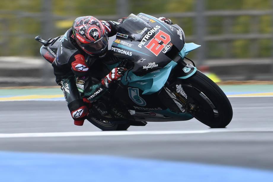 """Le """"chrono-maître"""", au Mans, c'est Fabio Quartararo!"""