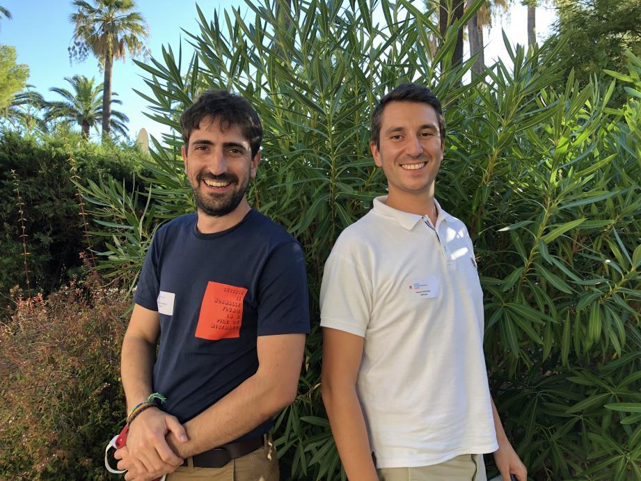 Raoul Do Nascimento et Vincent Deplano ont développé un logiciel hébergé dans le Cloud qui combine performance et santé des équipes.