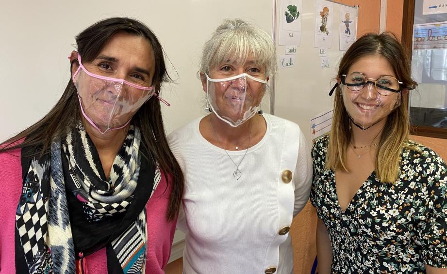 Les écoliers maximois des classes de CP et des Grandes sections maternelles peuvent désormais lire sur les lèvres de leurs enseignants.