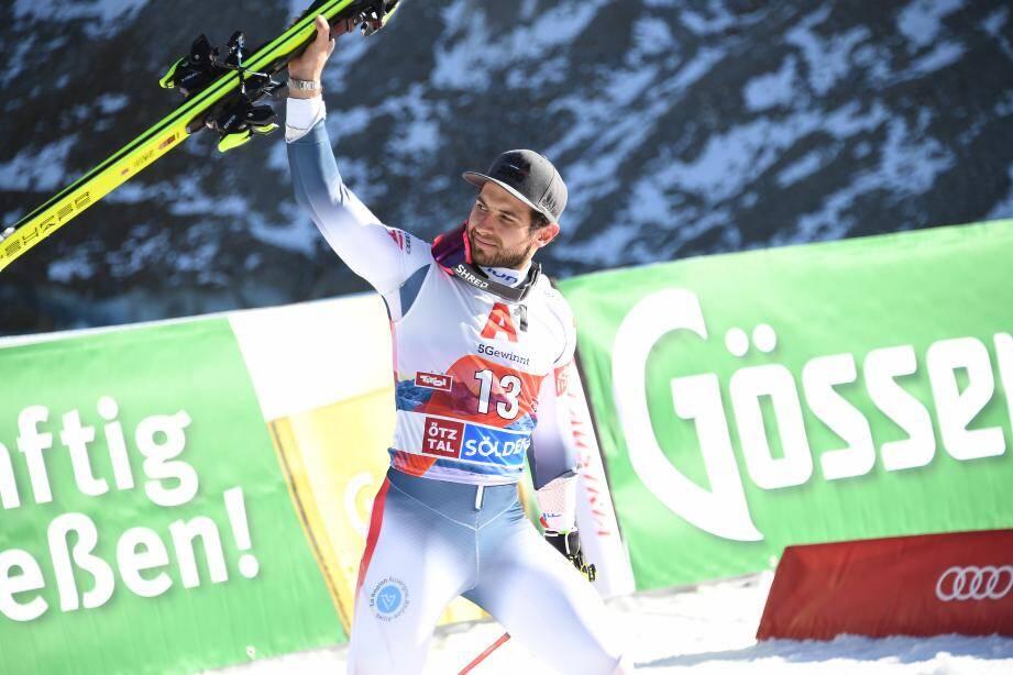 Il y a un an, Mathieu Faivre avait pris la deuxième place à Sölden.