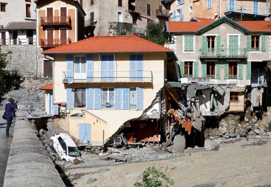De très gros travaux seront nécessaires à Saint-Martin-Vésubie.