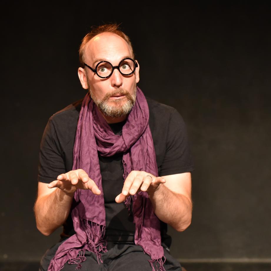 Olivier Rolland lors de la précédente édition du week-end de l'improvisation.