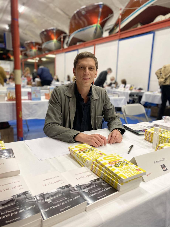 Antoine Leiris, hier au Salon du livre de Monaco.