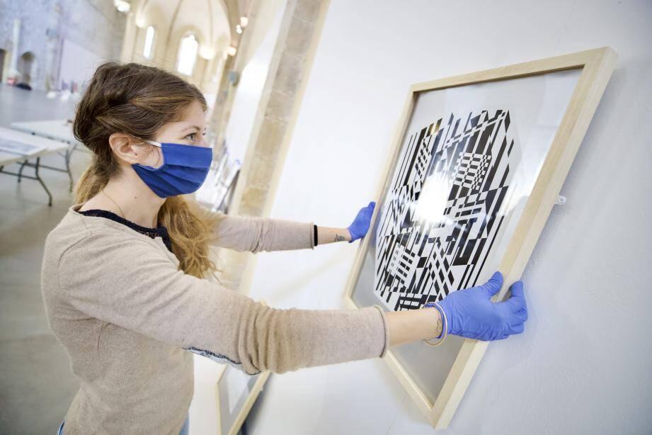 L'exposition Vasarely installée à la chapelle Notre-Dame de l'Observance de Draguignan est désormais fermée au public.