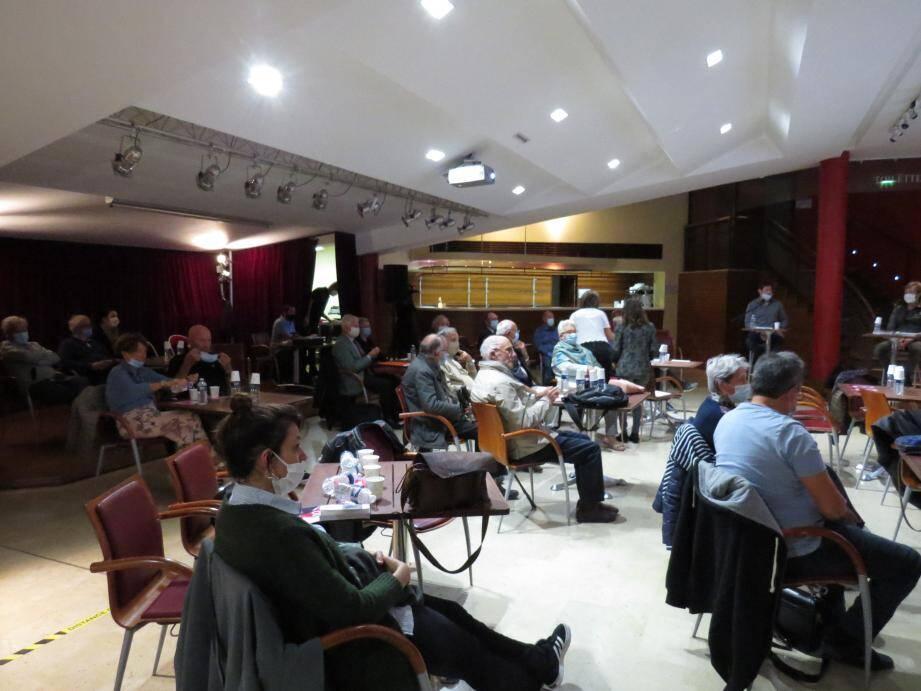 Jean Picano a présenté la nouvelle saison de l'Université du temps libre de Sanary.