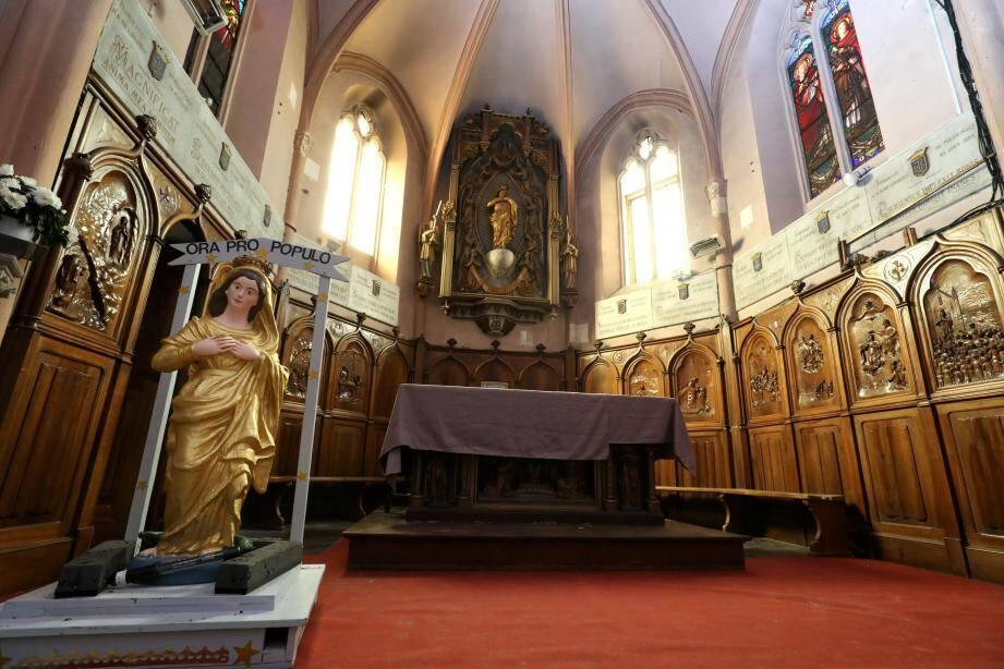Des fidèles, accompagnés par la commune propriétaire dubâtiment, aspirent à redonner à la chapelle Notre-Dame son lustre d'antan. Et vu l'état de dégradation constaté par endroits, ce n'est pas simple…