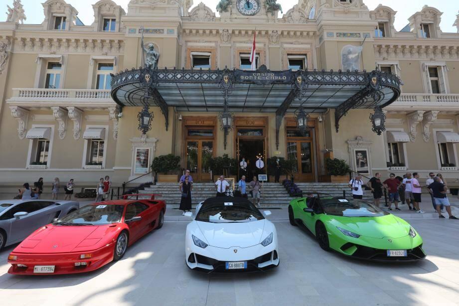 La Lamborghini avait une fausse plaque: 5.000 € d'amende pour l'un, trois mois avec sursis pour l'autre prévenu.