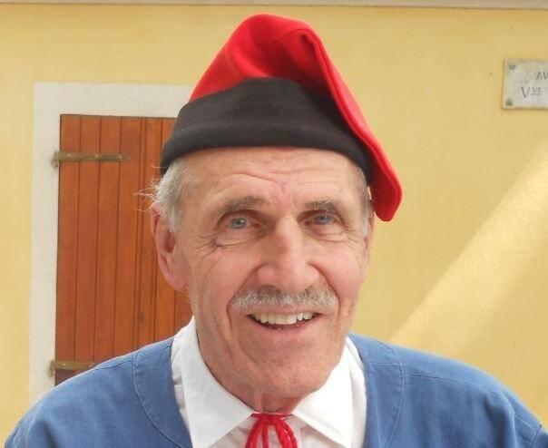 """Président du groupe folklorique """"La Mentonnaise"""", Émile Pistolesi s'est éteint à l'âge de 86 ans."""