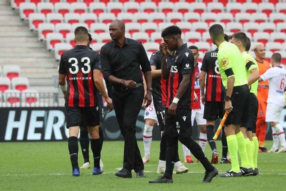 Le coach niçois découvre la Coupe d'Europe en tant qu'entraîneur ce soir.(AFP)