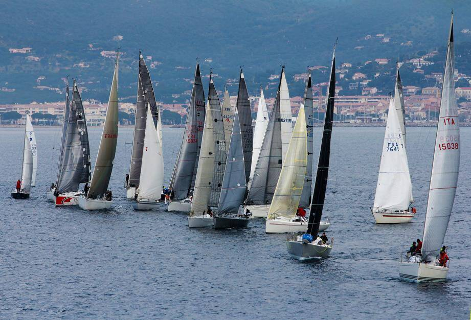 Troisième étape ce week-end avec Saint-Tropez comme port d'accueil.
