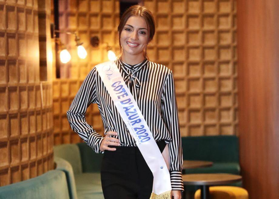 Lara Gautier, miss Côte d'Azur