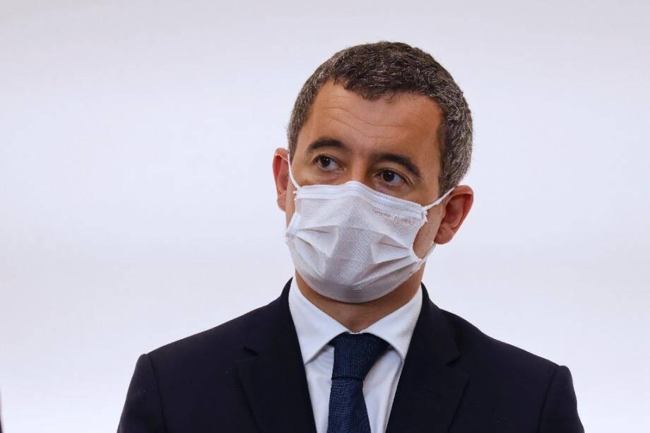 Gérald Darmanin le 15 octobre 2020 à Paris