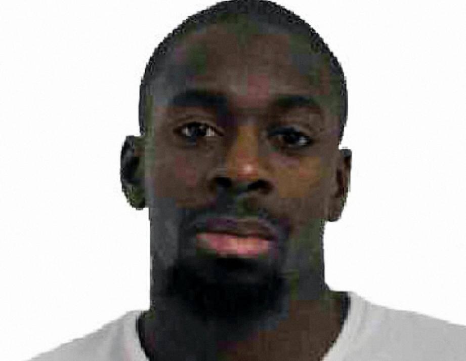 Amedy Coulibaly sur une photo fournie par la police le 9 janvier 2015