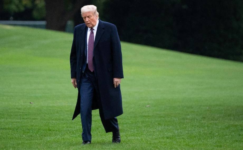 Le président américain Donald Trump à Washington, le 1er octobre 2020