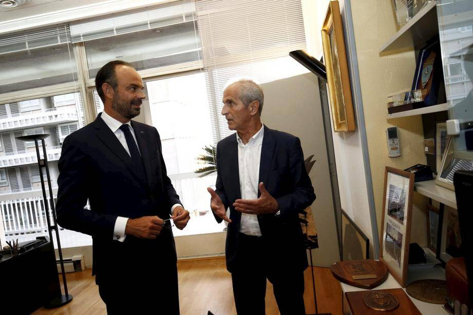 En septembre 2018, Edouard Philippe, alors premier ministre, était venu à Toulon visiter le chantier de Chalucet.