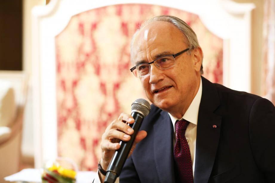 """Le président délégué de la SBM, Jean-Luc Biamonti, précise que """"le nombre de départs contraints sera fonction du nombre de départs volontaires""""."""