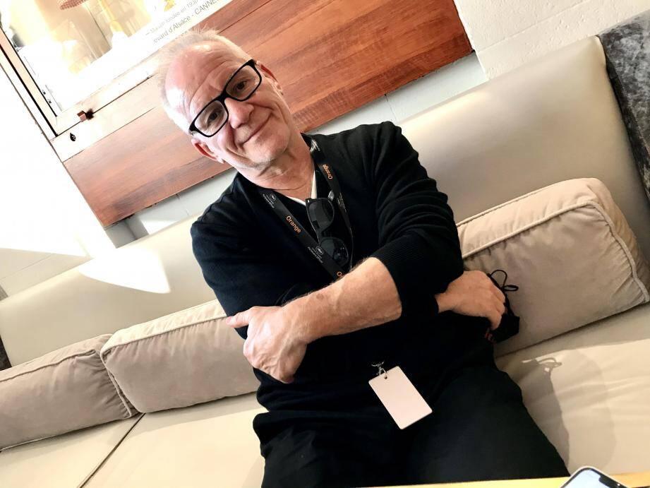 """Thierry Frémaux, à l'hôtel Majestic de Cannes, face au Palais: """"La maison Cannes reste ouverte"""""""
