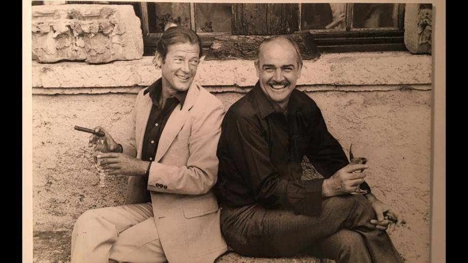 Sean Connery et Roger Moore