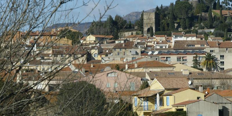 Le village de Cogolin.