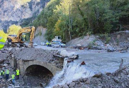 La voie empruntée par les secours a été coupée pendant quelques heures.