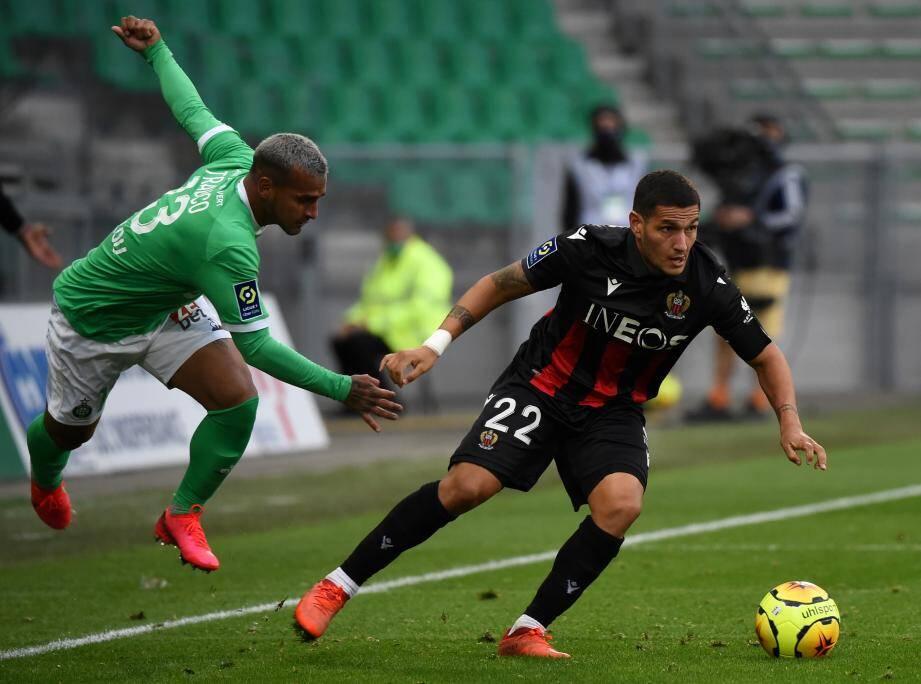 Les Niçois font une belle opération à Saint-Etienne, ce dimanche.