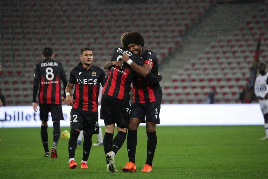 L'OGC Nice a retrouvé le sourire contre Lille dimanche.