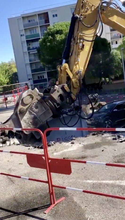 La Nouvelle se concrétise avec les travaux du parking «Caroubier».