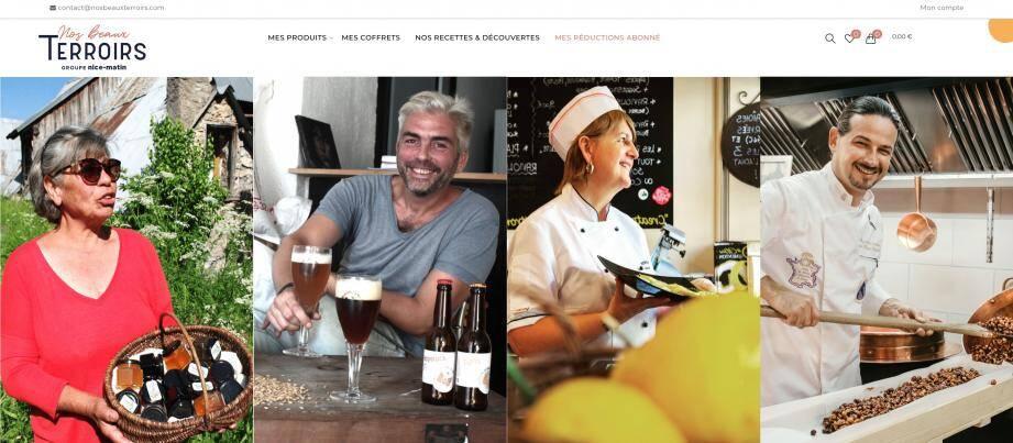 Raviolis, gourmandises et boissons... Le site propose un tas d'idées gourmandes.