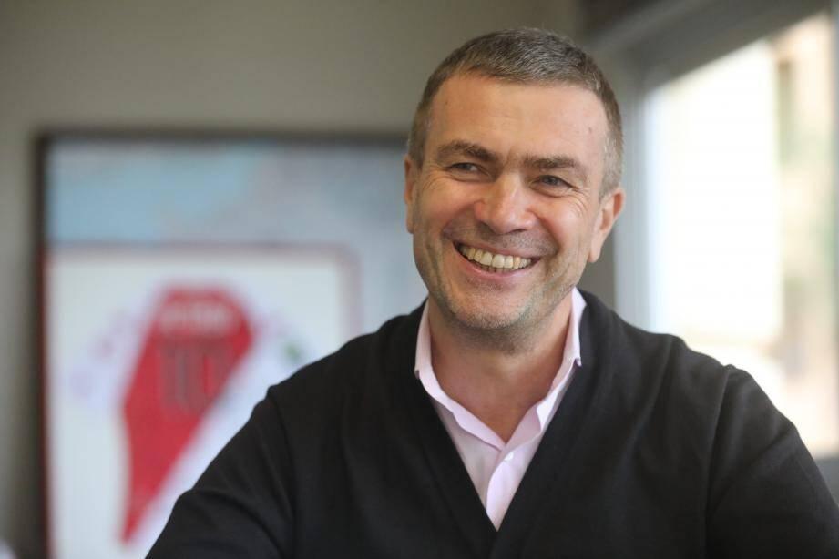 Oleg Petrov, vice-président de l'AS Monaco.