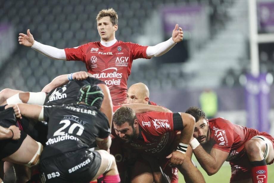Baptiste Serin n'a pu que constater la supériorité des Anglais, vendredi soir même s'il regrette les points donnés par les Toulonnais.