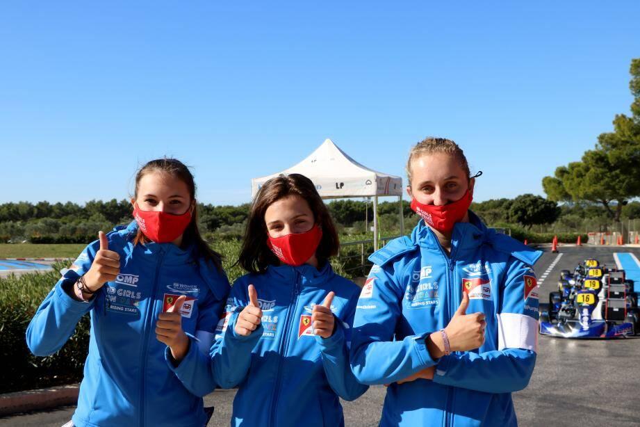 Après ces cinq jours de test au Castellet, elles ne sont plus que huit en piste...