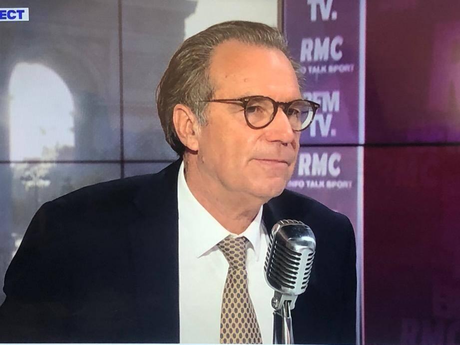 Renaud Muselier sur BFM TV.
