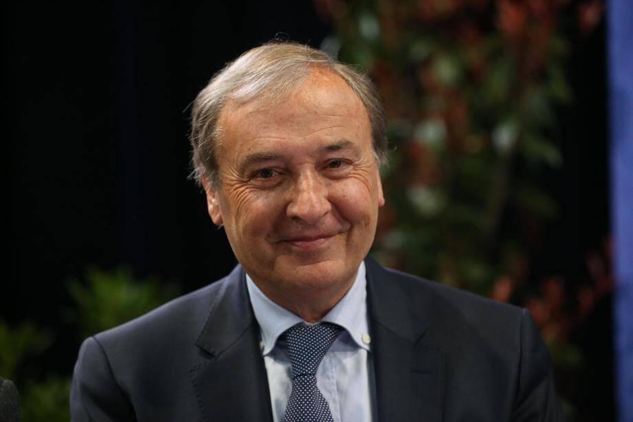Régis Lebigre, maire de Vence.
