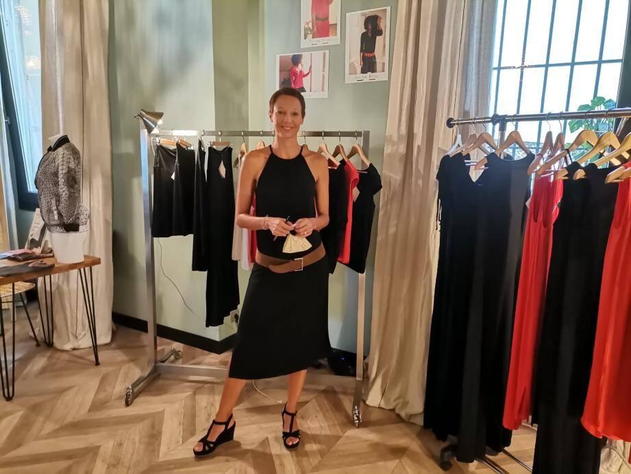 Sidonie Dumoulin, cofondatrice de Thelma Rose, avait présenté ses créations à La Parenthèse (tiers lieu rue du Congrès à Nice) au mois de septembre.