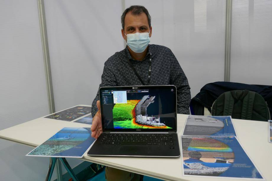Jean-Marc Temmos dirige ce bureau d'études innovant en environnement et océanographie acoustique basé à Sanary.