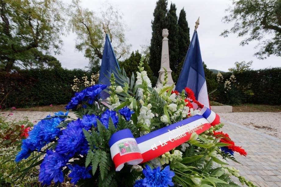 Illustration cérémonie patriotique du 11 novembre.