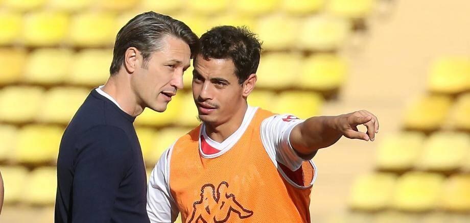 Niko Kovac et Wissam Ben Yedder
