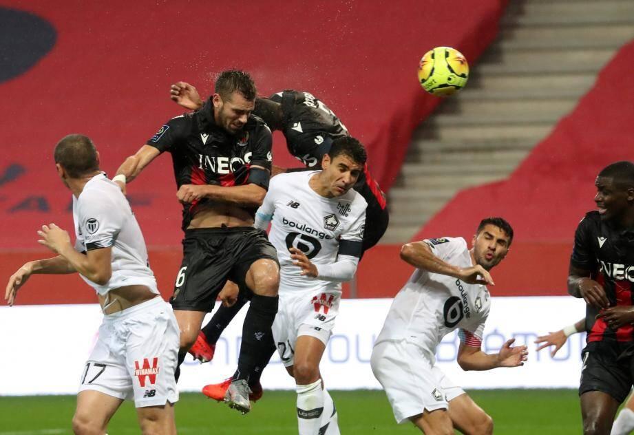 Match accroché entre deux prétendants aux places européennes.