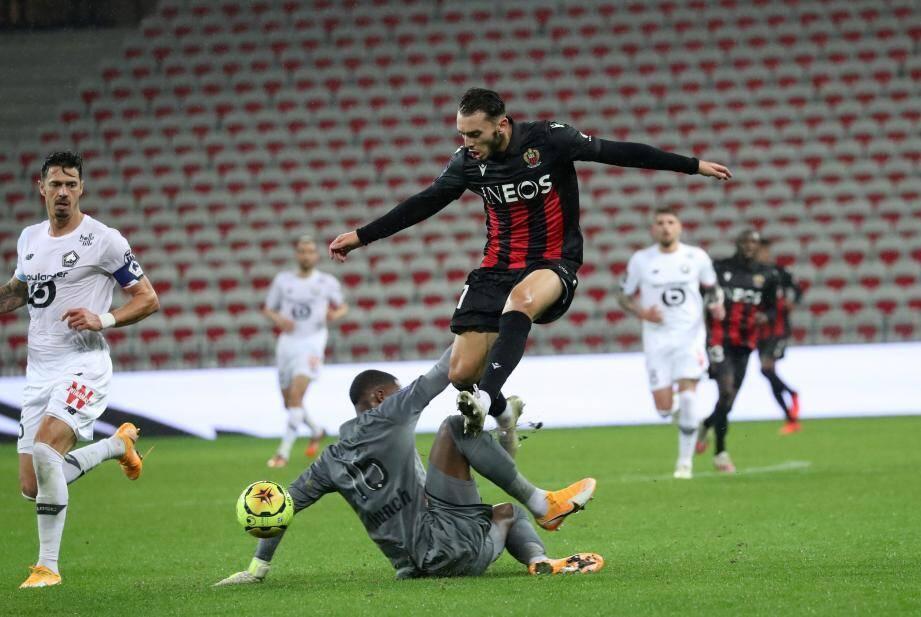 Amine Gouiri réalise un début de saison canon avec l'OGC Nice.