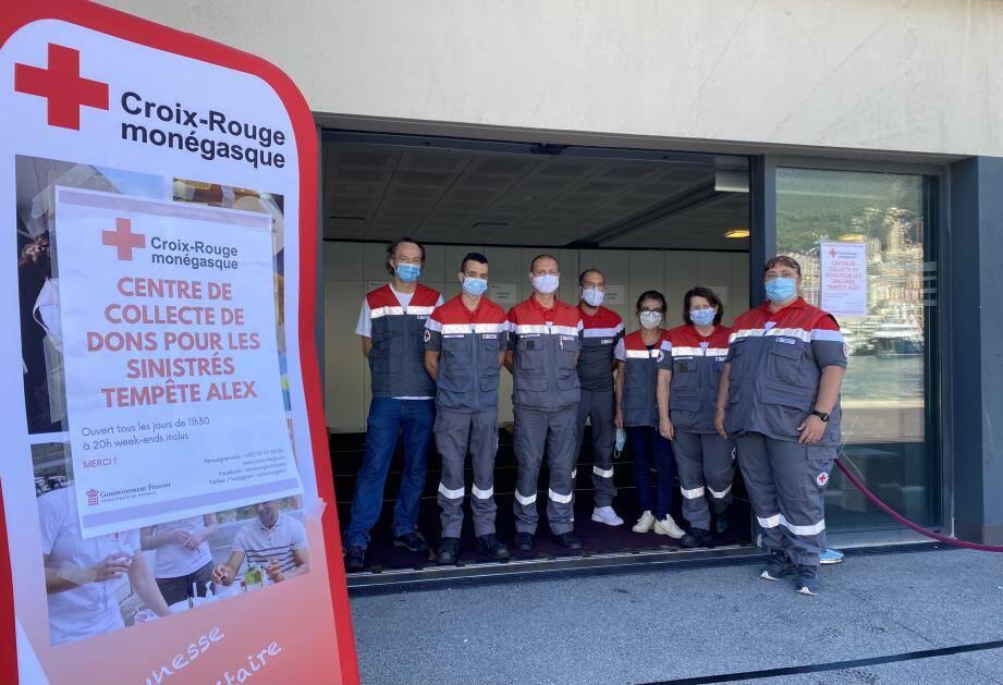 Le centre de dons a ouvert à Monaco.