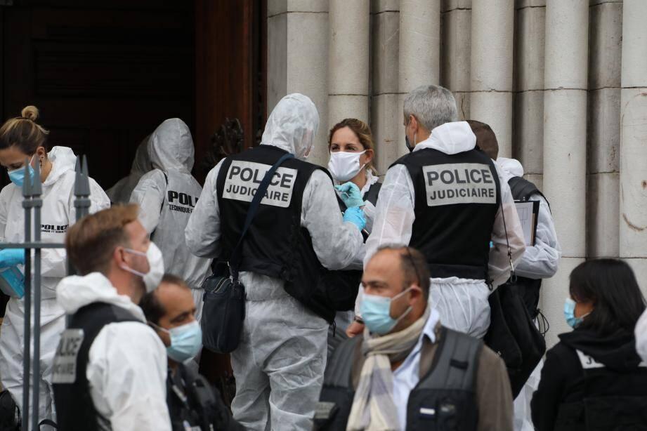 L'attentat dans la basilique Notre-Dame de Nice a fait 3 morts.