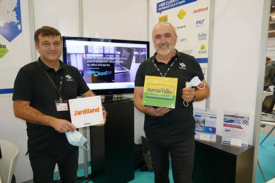 Les deux fondateurs Didier Sammaritano et Malik Dahman ont travaillé ensemble 17 ans chez un grand constructeur informatique. Leur entreprise s'attelle aujourd'hui à la sécurité liée aux objets connectés et au télétravail.