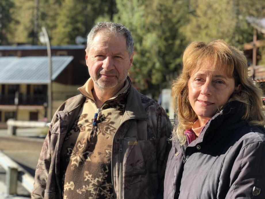 André et Nathalie Boulanger.