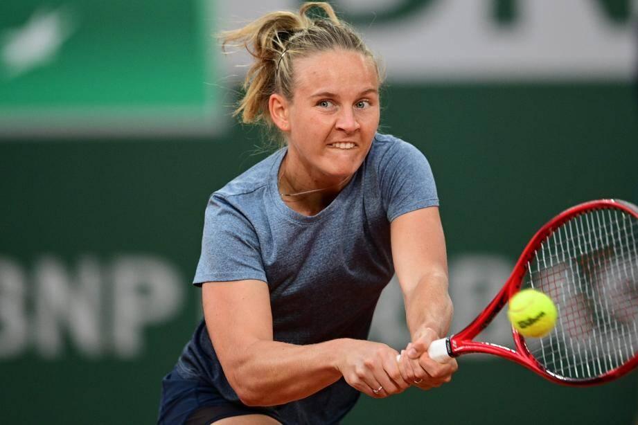Fiona Ferro s'offre pour la première fois un troisième tour à Roland-Garros.