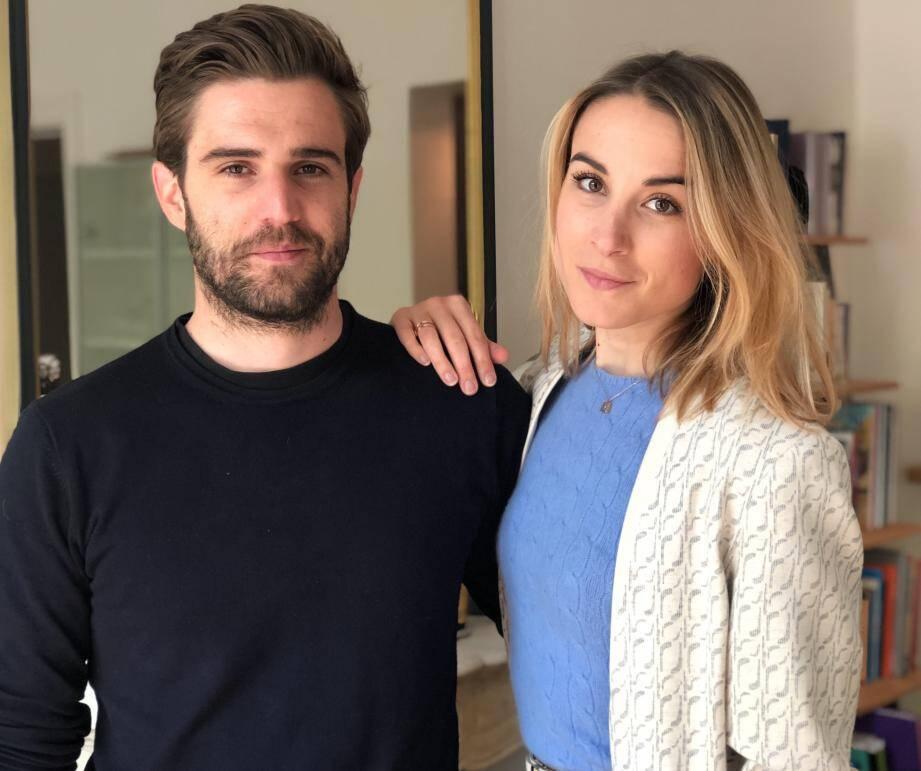Thibault Satto et sa sœur Victoire. Deux Niçois à Paris, fondateurs de la plateforme The Good Goods, engagés dans la mode et le lifestyle éco-responsable.