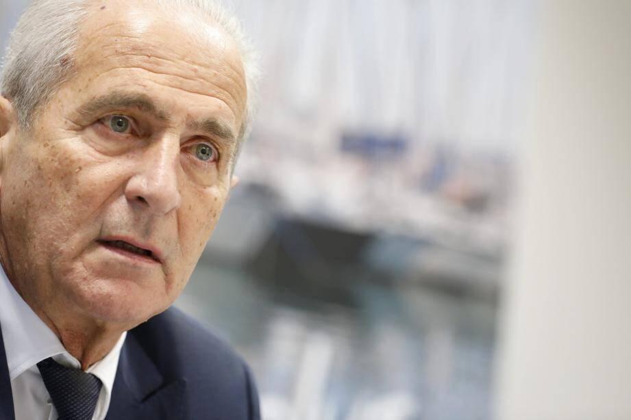 Hubert Falco, le maire de Toulon et président de la métropole Toulon Provence Méditerranée.