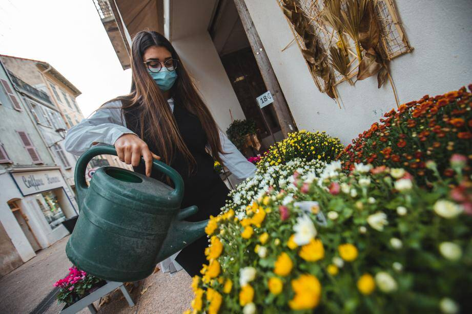Chez Bonnet fleurs à Fréjus, un système de livraison sera mis en place comme au printemps dernier.