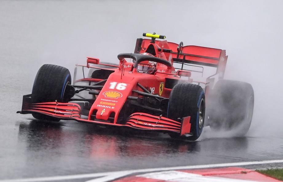 La remontée fantastique de Charles Leclerc s'est achevée au pied du podium.