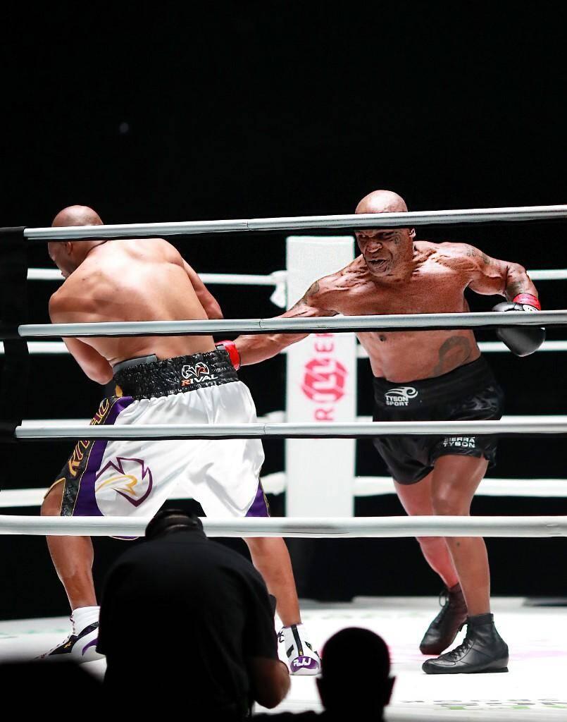 Mike Tyson est remonté sur le ring à 54 ans, et il a tenu la distance.