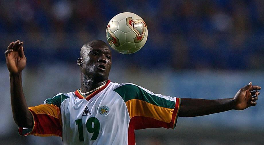 Papa Bouba Diop lors de la coupe du monde 2002